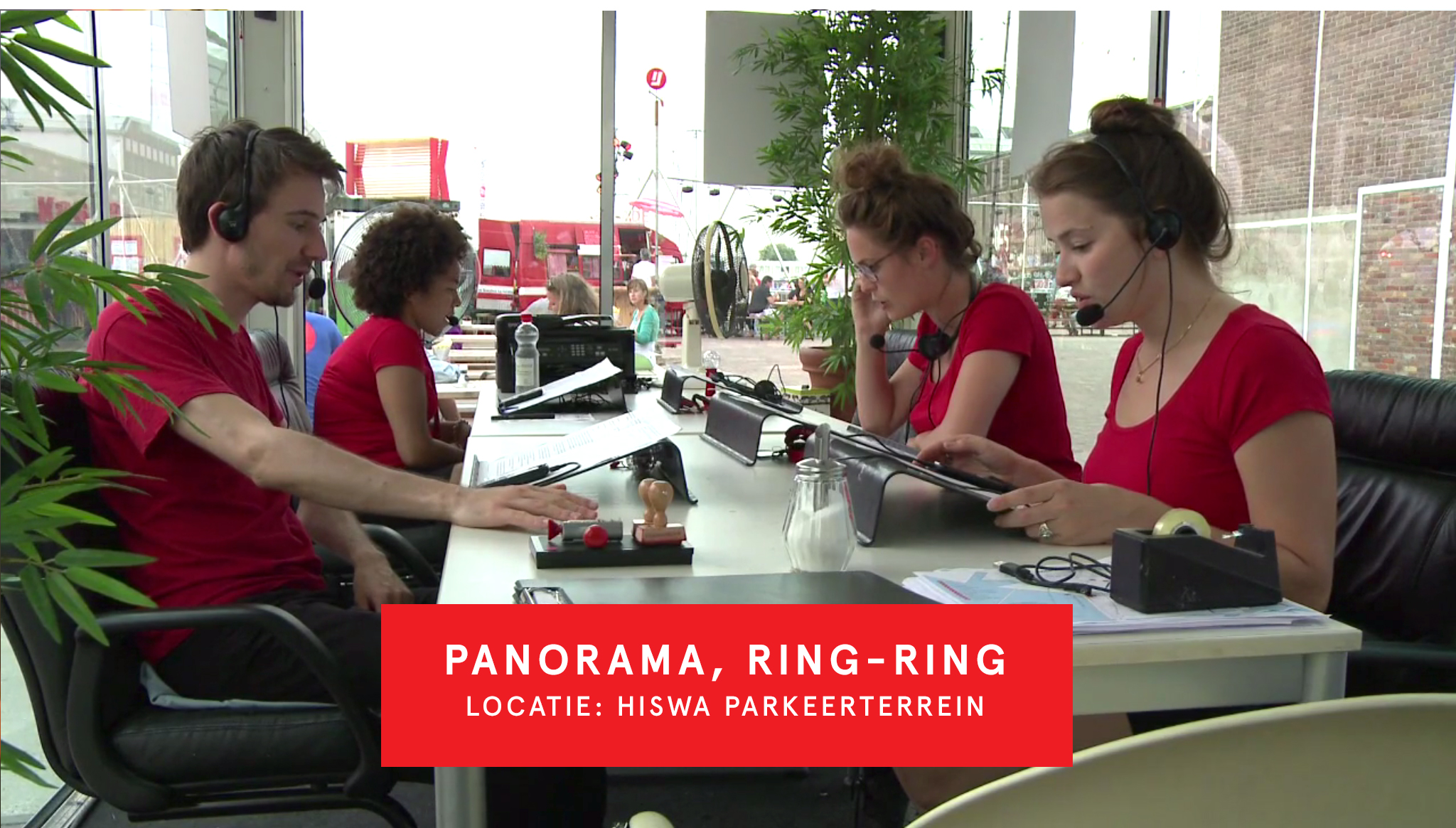 Panorama Ring Ring 'HISWA parkeerterrein'
