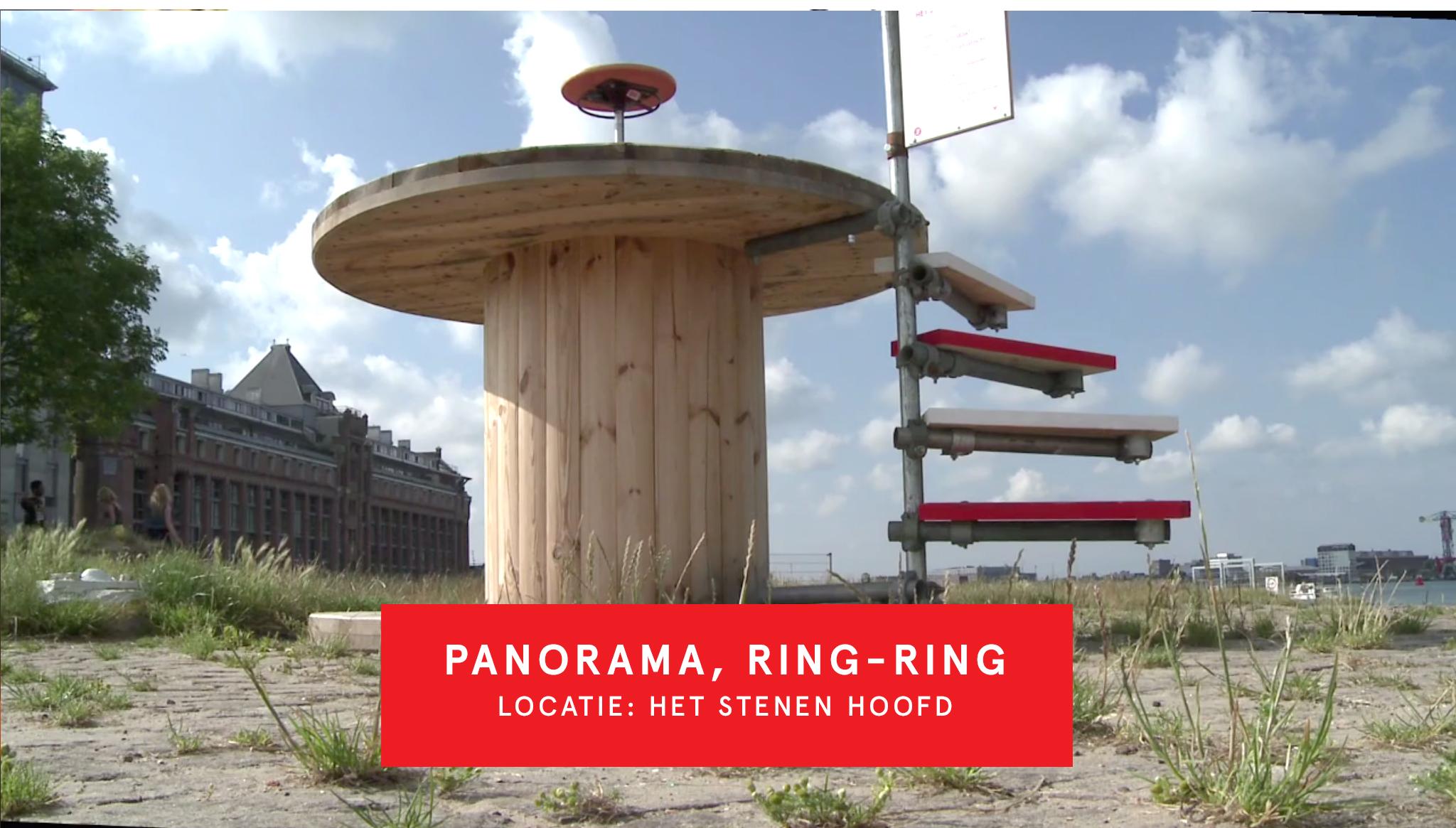 Panorama Ring Ring 'Het Stenen Hoofd'
